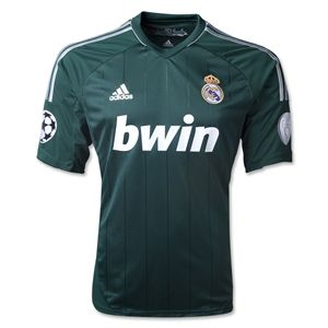 adidas Real Madrid 12/13 Third Soccer Jersey