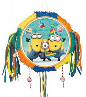 Despicable Me 2   Pull String Drum Pinata