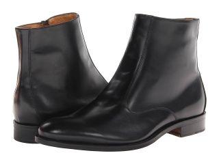 Massimo Matteo Side Zip Boot Mens Shoes (Black)
