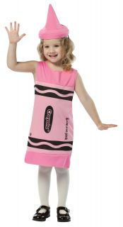 Crayola Pink Tank Dress Child Costume