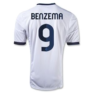 adidas Real Madrid 12/13 BENZEMA Home Soccer Jersey