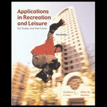 Applications in Recreation and Leisure: For Today and The Future With Powerweb