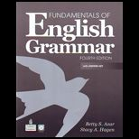 Fundamentals of English Grammar, With Answer Key   With 2 CDs