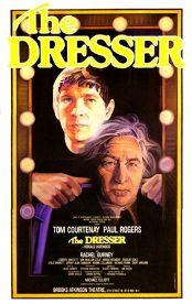 The Dresser (Original Broadway Theatre Window Card)