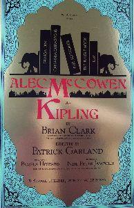 Kipling (Original Broadway Theatre Window Card)