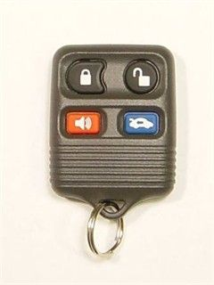 2001 Lincoln Continental Keyless Entry Remote   Used