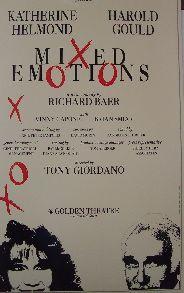 Mixed Emotions (Original Broadway Theatre Window Card)