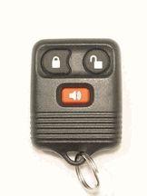 2008 Lincoln Mark LT Keyless Entry Remote