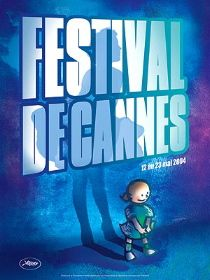 CANNES FILM FESTIVAL POSTER 2004 (FRENCH ROLLED   MEDIUM) Movie Poster