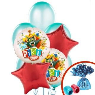 Tom and Jerry Balloon Bouquet