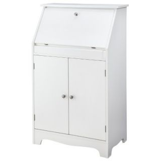 Secretary Desk: Threshold Secretary Desk   White