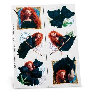 Brave Tattoo Sheets