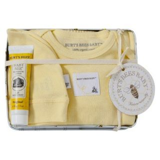 Burts Bees Baby Newborn Neutral Layette Set with Collectible Tin   Sunshine