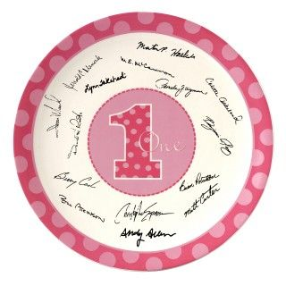 Everything One Girl Signature Plate
