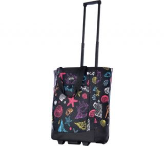 Olympia Rolling Shopper Tote   Sea Shell Shopping Bags