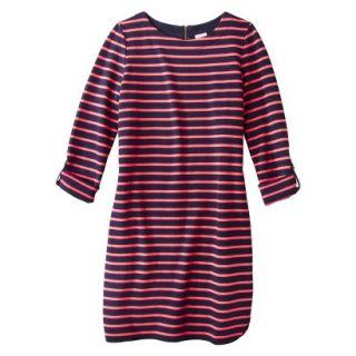 Merona Womens French Terry Dress   Pink/Blue   XXL