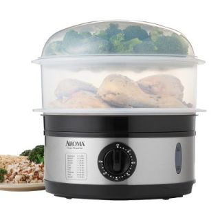 AROMA Stainless Steel Food Steamer   5 Quart