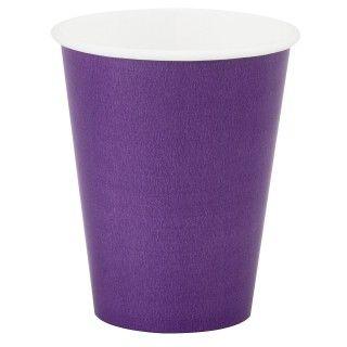Perfect Purple (Purple) 9 oz. Paper Cups
