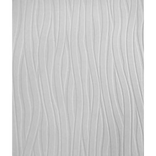 Graham & Brown Wavy Lines Paintable Wallpaper