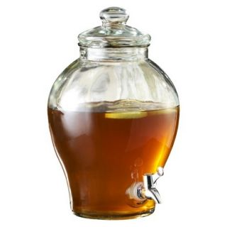 Sanford Glass Beverage Dispenser   Clear