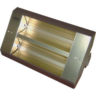 TPI Indoor/Outdoor Quartz Infrared Heater   24,915 BTU, 480 Volts, Galvanized