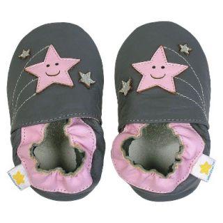 Ministar Infant Girls Shooting Star Shoe   Grey S