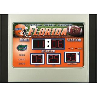 Team Sports America Florida Scoreboard Desk Clock