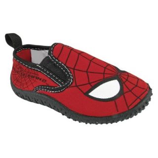 Toddler Boys Spiderman Water Shoes   Black 7
