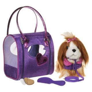 Pucci Pups Diamond Diva Deluxe Bag and Brown Shih Tzu Pup