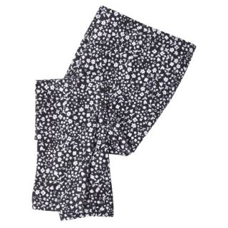 Circo Infant Toddler Girls Floral Print Legging   Black 18 M
