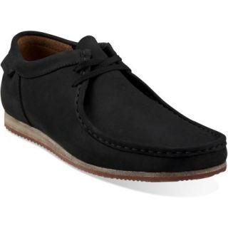 Clarks Wallabee Run Shoes  Mens,  Black NUBUCK,  10