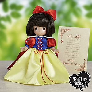 Precious Moments Snow White Doll with Personalized Letter