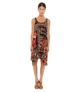 Jean Paul Gaultier Foto Patch Dip Hem Dress Womens Swimwear (Multi)