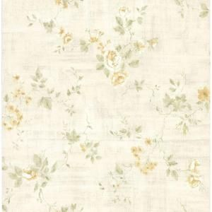 Brewster 56 sq. ft. Textured Rose Wallpaper DISCONTINUED 282 64035