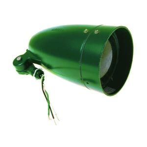 Bell 1 Light 120 Volt Outdoor Green Bullet Light 5820 8