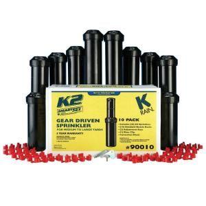K Rain 5 in. K2 Gear Drive Sprinklers (10 Pack) 90010