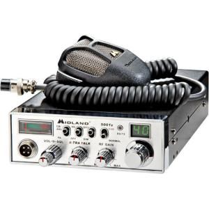 Midland 30 Mile 40 Channel CB Radio with Digital Tuner (1 Pack) 5001Z