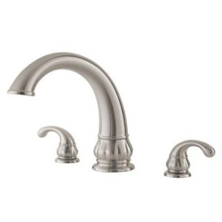 Pfister Treviso 2 Handle Roman Tub Faucet In Brushed Nickel