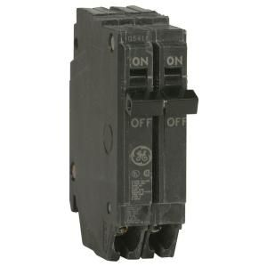 GE Q Line 20 Amp 1 in. Double Pole Circuit Breaker THQP220