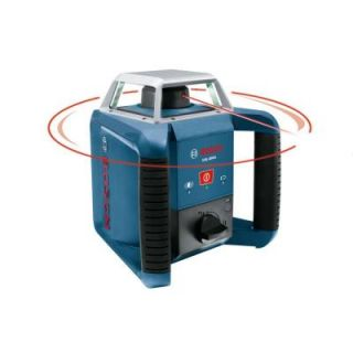 Bosch 1300ft. Self Leveling Rotary Laser with Laser Receiver GRL400H