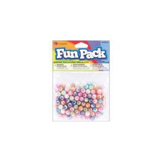 Fun Pack Acrylic Pony Beads, 144pk, Assorted Pastel: Crafts