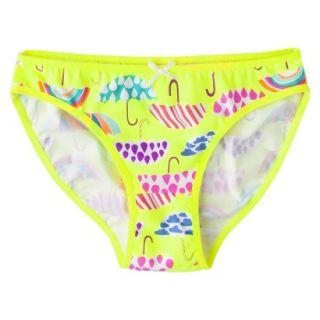 Xhilaration Girls Bikini Briefs   Yellow 10