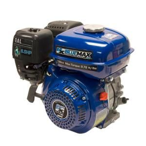 Blue Max 11 HP OHV Recoil Start Horizontal Shaft Engine 6785