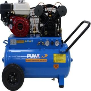 Puma 20 Gal. 5.5 HP Gas Engine Single Stage Horizontal Air Compressor PUN5520G