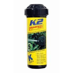 K Rain 5 in. K2 Smart Set Gear Drive Sprinkler 91031