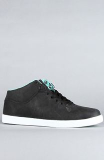 Diamond Supply Co. Sneaker Suede Mid Top in Black