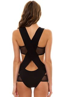 Minimale Animale Swimsuit Stephanie Deux in Black