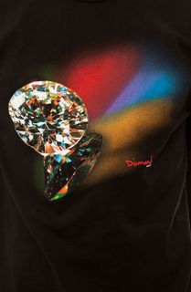 Diamond Supply Co. Reflection Tee in Black