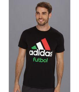 adidas Adilogo   Futbol Mens T Shirt (Black)