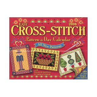 Easy Cross Stitch Pattern a Day: 2008 Day to Day Calendar: Tamara Schmidt: 9781579393243: Books
